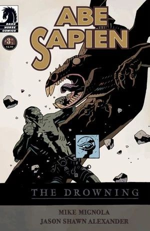 ABE SAPIEN,THE DROWNING VOL. 3